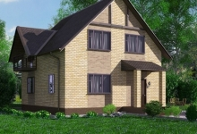 Дом из блоков A-131