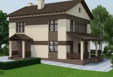 Дом из блоков A-149