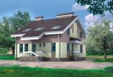 Дом из блоков Сильвестр