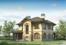 Дом из блоков Елизар