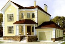 Дом из блоков 63