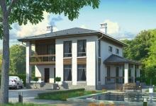 Дом из блоков Осмомысл