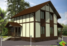 Каркасный дом КД-7.7-108
