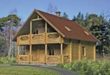 Деревянный дом I-149-1D