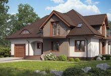 Дом из блоков Z18GL