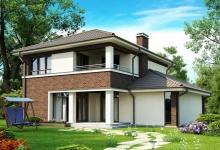 Каркасный дом Zx24