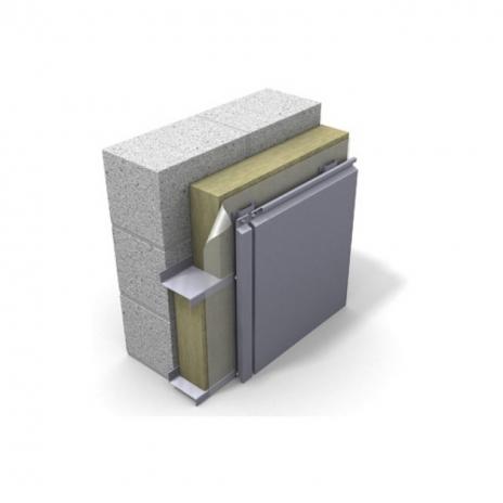 Вентилируемый фасад. Металлические панели.