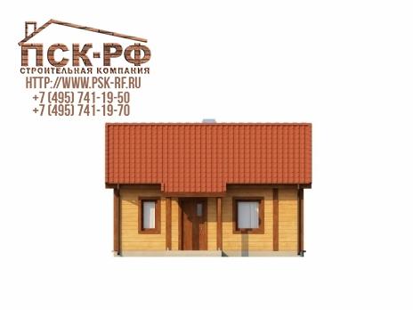 Дом из блоков Z-42