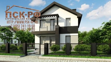 Дом из блоков Z-372