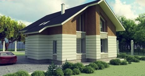 Дом из блоков A-153