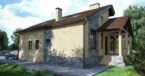 Дом из блоков A-281