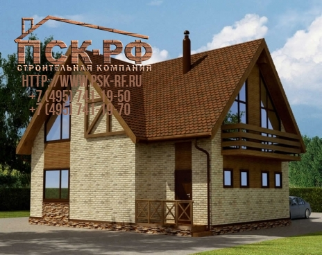 Каркасный дом 10-16
