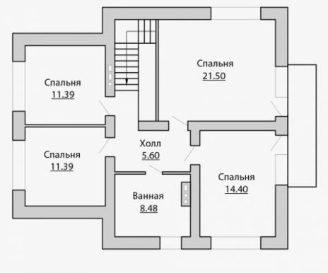 Дом из блоков A-173