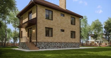 Дом из блоков A-178
