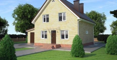 Дом из блоков A-157