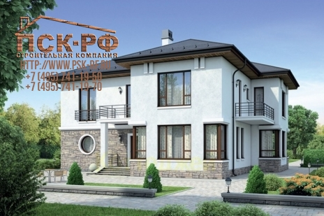 Дом из блоков Доброслав