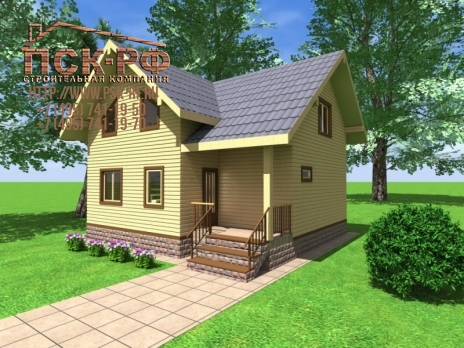 Дом из бруса Волга
