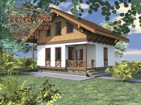 Комбинированный дом Белоусово