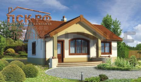 Дом из блоков Купец