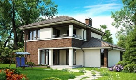 Дом из блоков Д-4