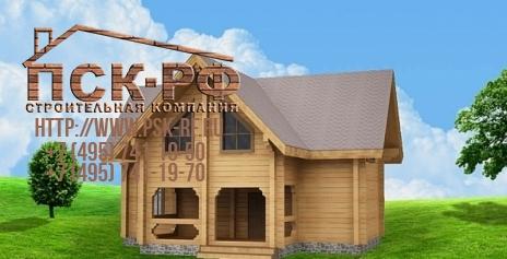 Дом из бруса W-178-1