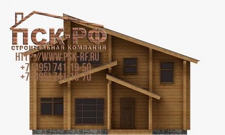 Дом из бруса W-189-1