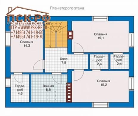 Каркасный дом 57-13