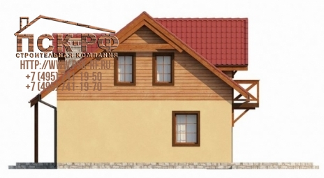 Комбинированный дом Д-14