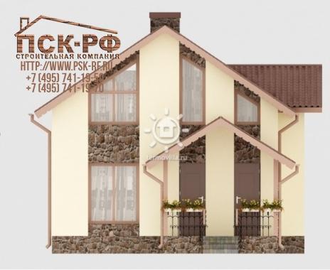 Дом из блоков Вилла Калифорния