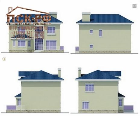 Дом из блоков Лазарь