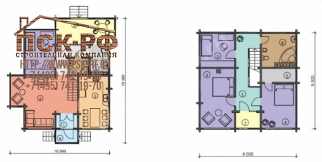 Каркасный дом СП-194