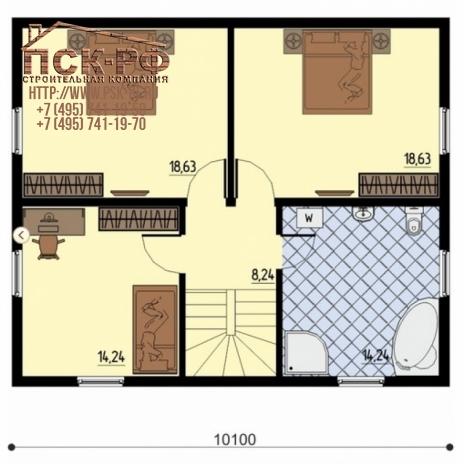 Комбинированный дом Valdek 01