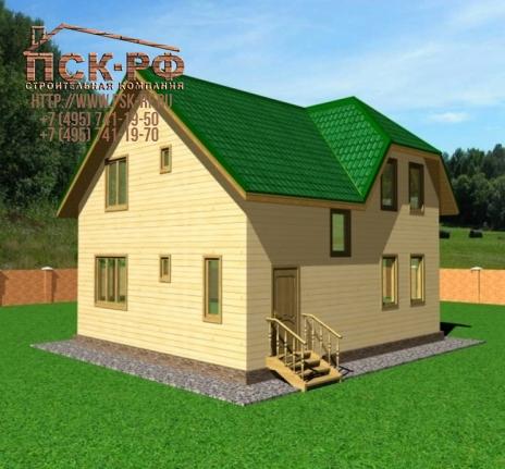 Каркасный дом 30А