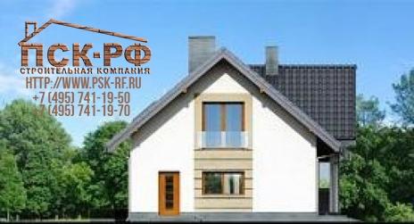 Дом из блоков S-185-1 (К-185-1)