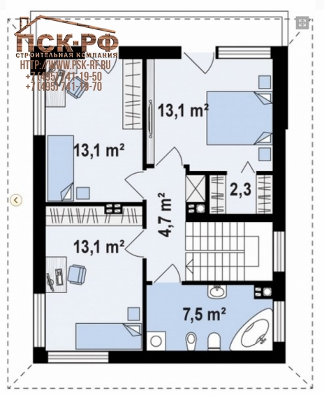 Комбинированный дом Д-11