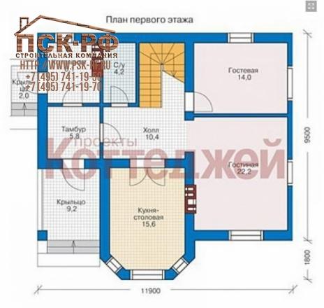 Комбинированный дом 40-12