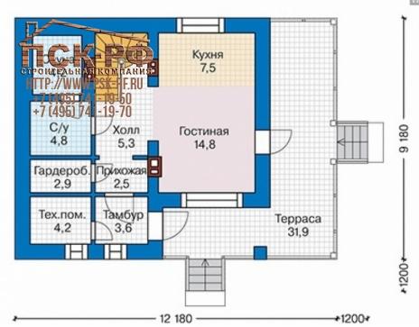 Каркасный дом 58-94