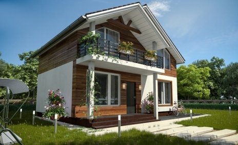 Комбинированный Дом В-220