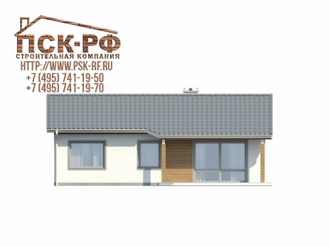 Дом из блоков Z7