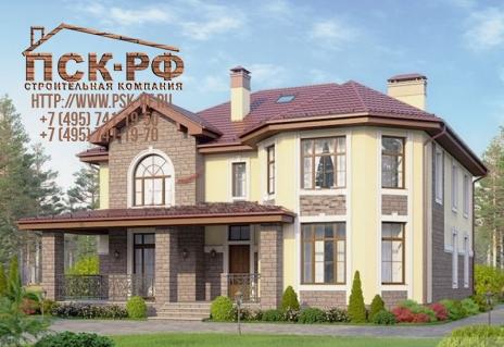Дом из блоков U-294-1P