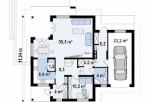 Дом из блоков Z-284