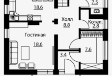 Комбинированный Дом В-20