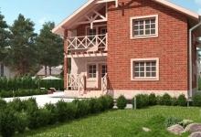 Дом из блоков A-185