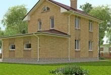 Дом из блоков A-135