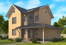 Каркасный дом 10-11
