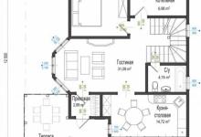 Каркасный дом 10-12