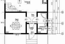 Каркасный дом 10-14