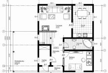 Каркасный дом 10-21