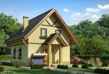 Каркасный дом 10-22