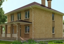 Дом из блоков A-207
